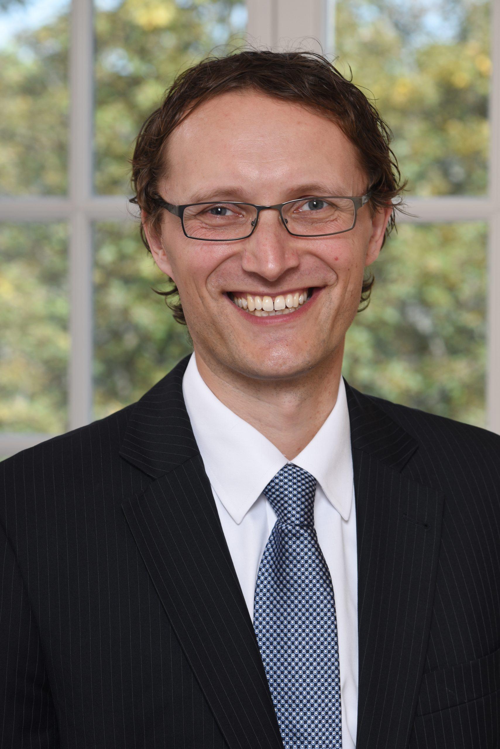 Portrait Dr. Daniel Hartmann