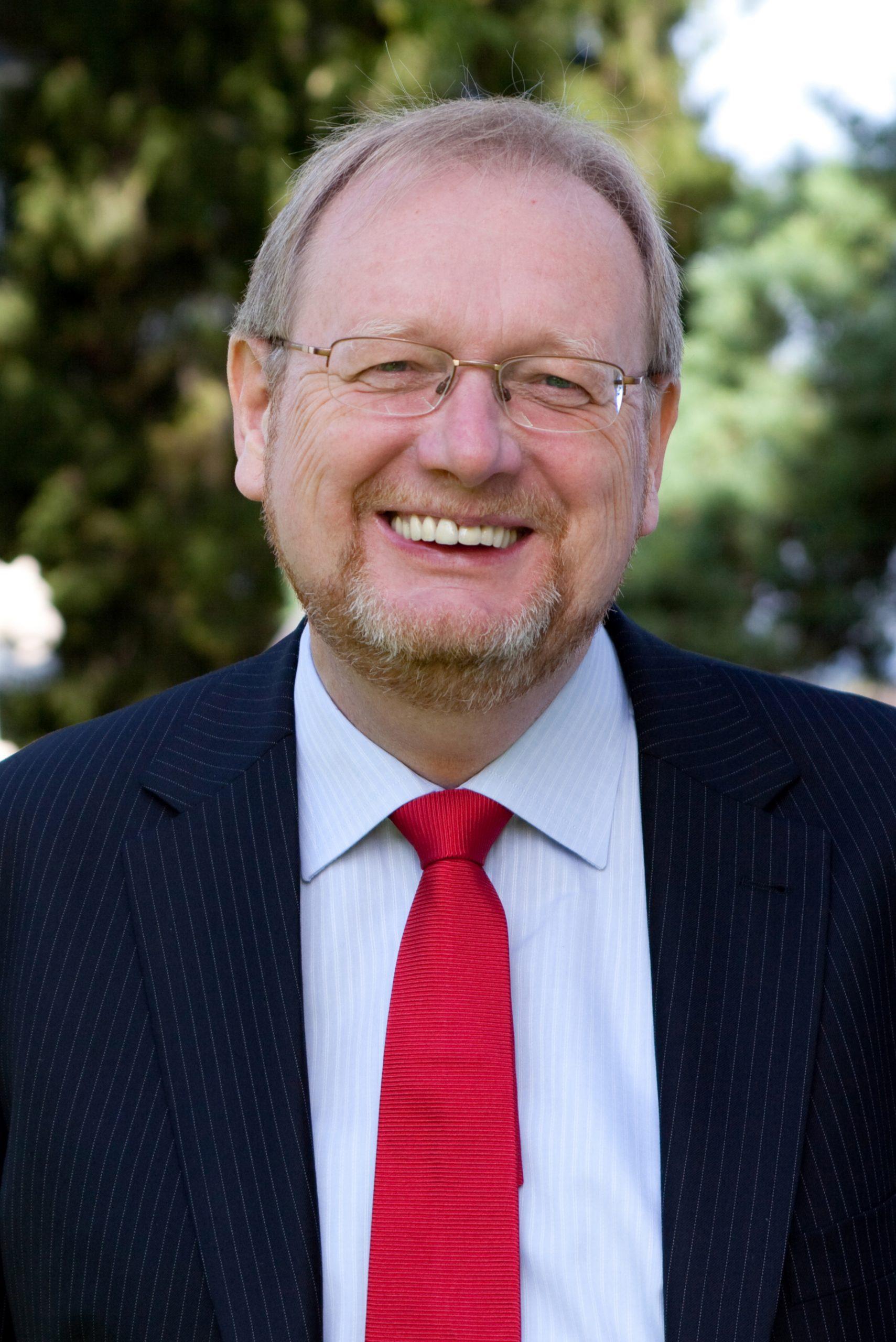 Portrait Peter E. Huber